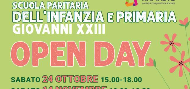 Scuola Giovanni XXIII di Valtesse: open day il 24 ottobre